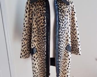 Safari Faux Fur Coat