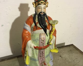 Chinese character figure midcentury 60s chinese