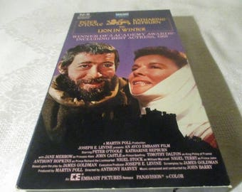LION IN WINTER - Katherine Hepburn and Peter O'Toole Released October 1968