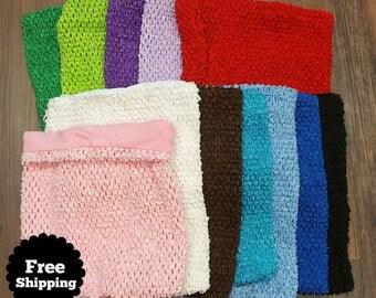Lined Crochet TutuTop (large) for Tutu Dress Making
