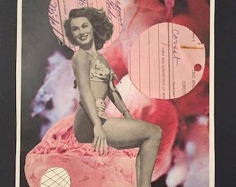 Vintage Magazine Collage GarbagedayUS