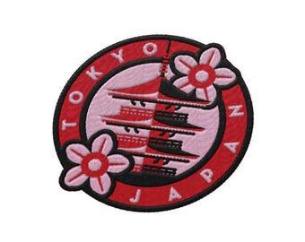 Tokyo Japan Travel Patch