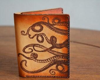 Kraken Billfold Leather Men's Wallet