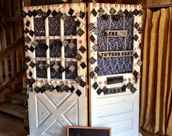 Vintage Wedding Door