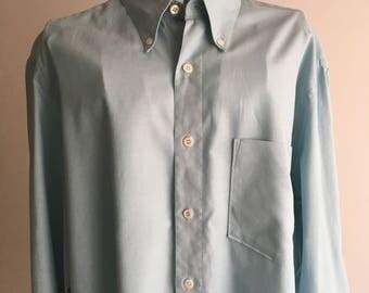 Hugo Boss shirt celeste vintage shirts Hugo Boss 90 years-Man original 90s