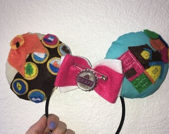 Disney UP Inspired Mouse Ears