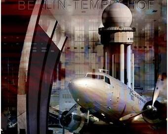 Tempelhof airport Berlin candy bomber