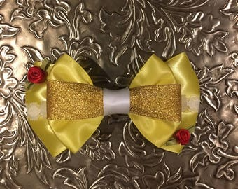 Belle Ball Gown Inspired Bow