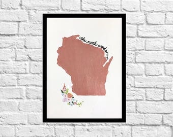 The Northwoods Rose Gold