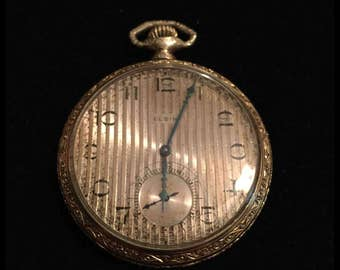 Elgin 1918 Pocket Watch