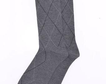 Stylish dress/casual socks for men sz US 7-12