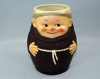 Goebel Friar Tuck Monk Beer Mug Big Size