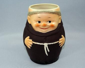 Goebel Friar Tuck Monk Beer Mug Big Size