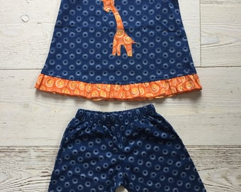 Omega two piece romper 6-12 months