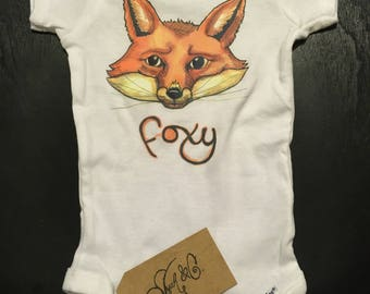 Foxy in color  - Recycled Onesie