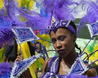 Authentic Carnival Headpiece