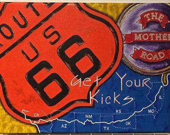 Get Your Kicks Painting