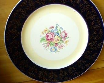 Royal Harvey Floral Patterned Dinner Plate