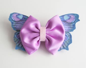 Medium Fairytale inspired hair bow, in the style 'Fairy Whispers'