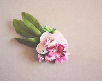Flower Clip - Hair Accessory - Hair Clip - Hair Jewellery