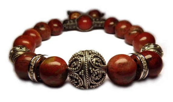 The Brown Jasper bracelet
