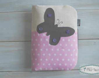 Butterfly Nappy bag | diaper bag | diaper pouch | nappy clutch | diaper clutch