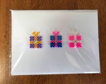 Hama Beads | V.I.P Present Card