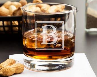 Personalized Groomsmen Whiskey Glass - Custom Whiskey Glasses - Best Gifts for Groomsmen - Scotch Rocks Glass - Best Man Gift - Whiskey