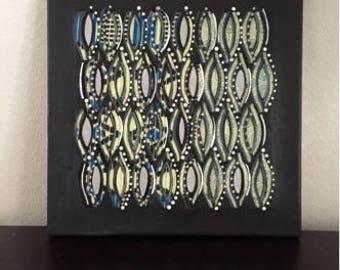 Kente Cutout Canvas