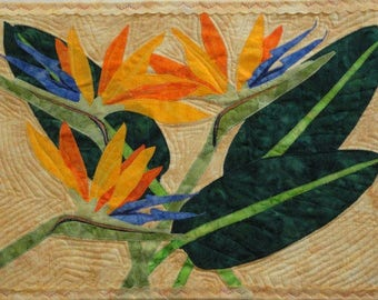 Bird of Paradise Quilt Pattern