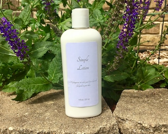 Simple Unscented Lotion
