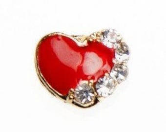 Floating Charm Heart