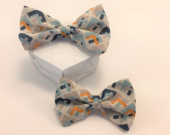 Baby Bow Duo Set Hundreds and Thousands