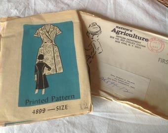1960 s dress pattern, unused