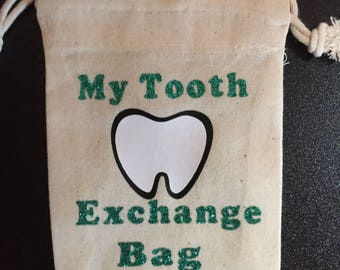 Tooth Fairy Tooth Bag