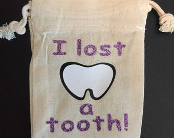 Tooth fairy tooth bag!