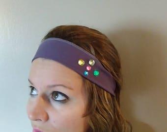 Purple Adjustable and Stretchy Headbands!