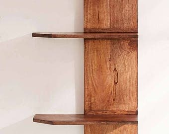Tiered Wooden shelf