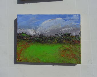 Inmpressions of light and season, two paintings: A late Summer's Day and Autumn in Kelynack, see their individual listing for more
