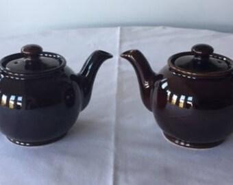 Vintage Sadler Miniature 2 Cup Teapots Made in England