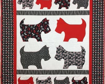Mickey & Friends Scottie Dogs Quilt