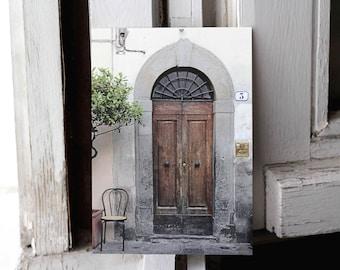 ZIP format photography   Door in Florence, Italy