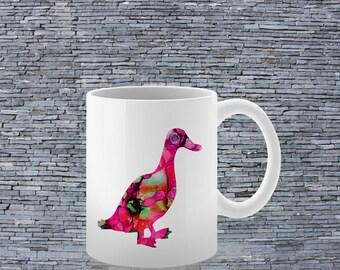 Duck Mug - Tea Mug - Coffee Mug - Printed Mug