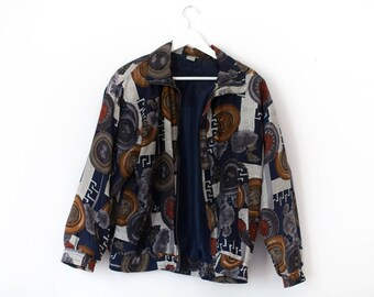 Vintage Silk Jacket Fuda International