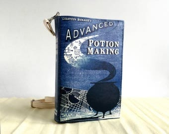 Advanced Potion Making Leather Book Bag