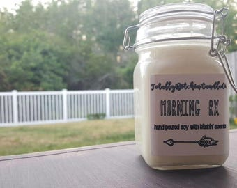 Morning Rx Soy Candle