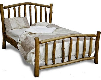 The Dreamcatcher High Foot End Rustic Wooden Bed Frame