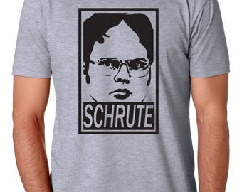 Dwight Schrute Mens Shirt by Brain Juice Tees
