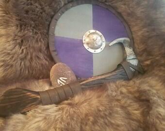Viking style throwing axe