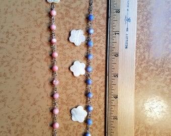 Lily flower bracelets